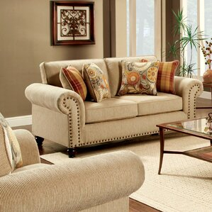 Primavera Transitional Loveseat by Hokku Designs