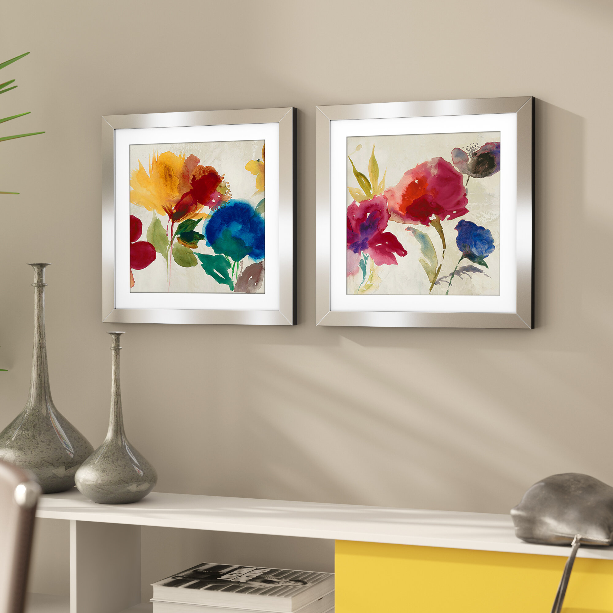 Watercolor Painting Wall Art You Ll Love Wayfair