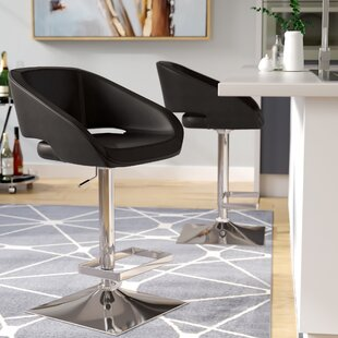 Brierfield Gustavo Adjustable Height Swivel Bar Stool