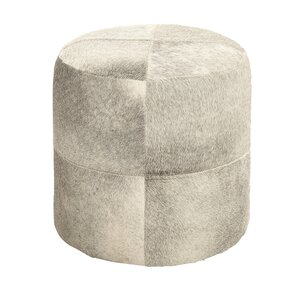 Lynelle Leather Ottoman by Orren Ellis