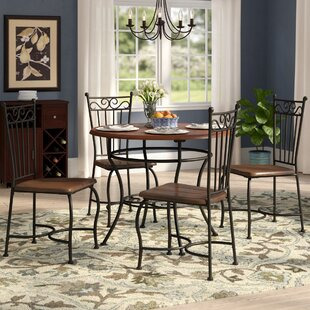 Nelida 5 Piece Dining Set Purchase