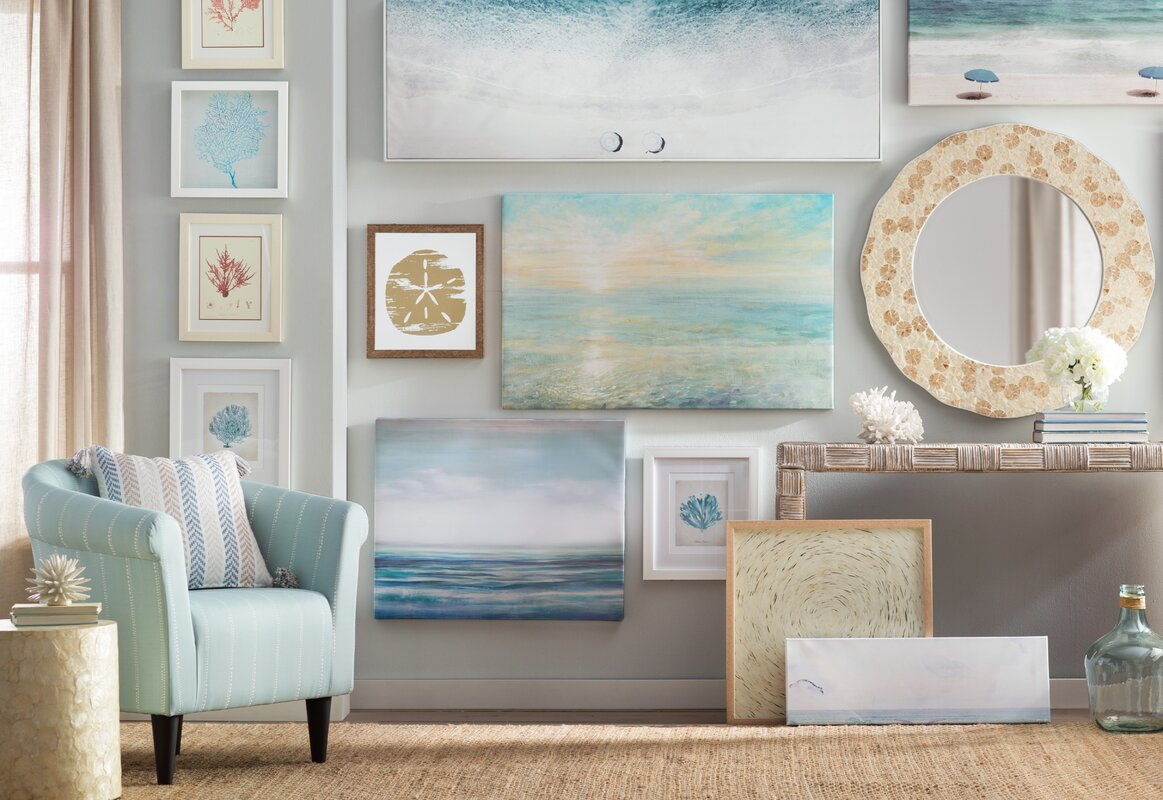 Beachcrest Home Coral Decor & Reviews