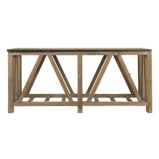 Eliana Rectangular Wooden Console Table