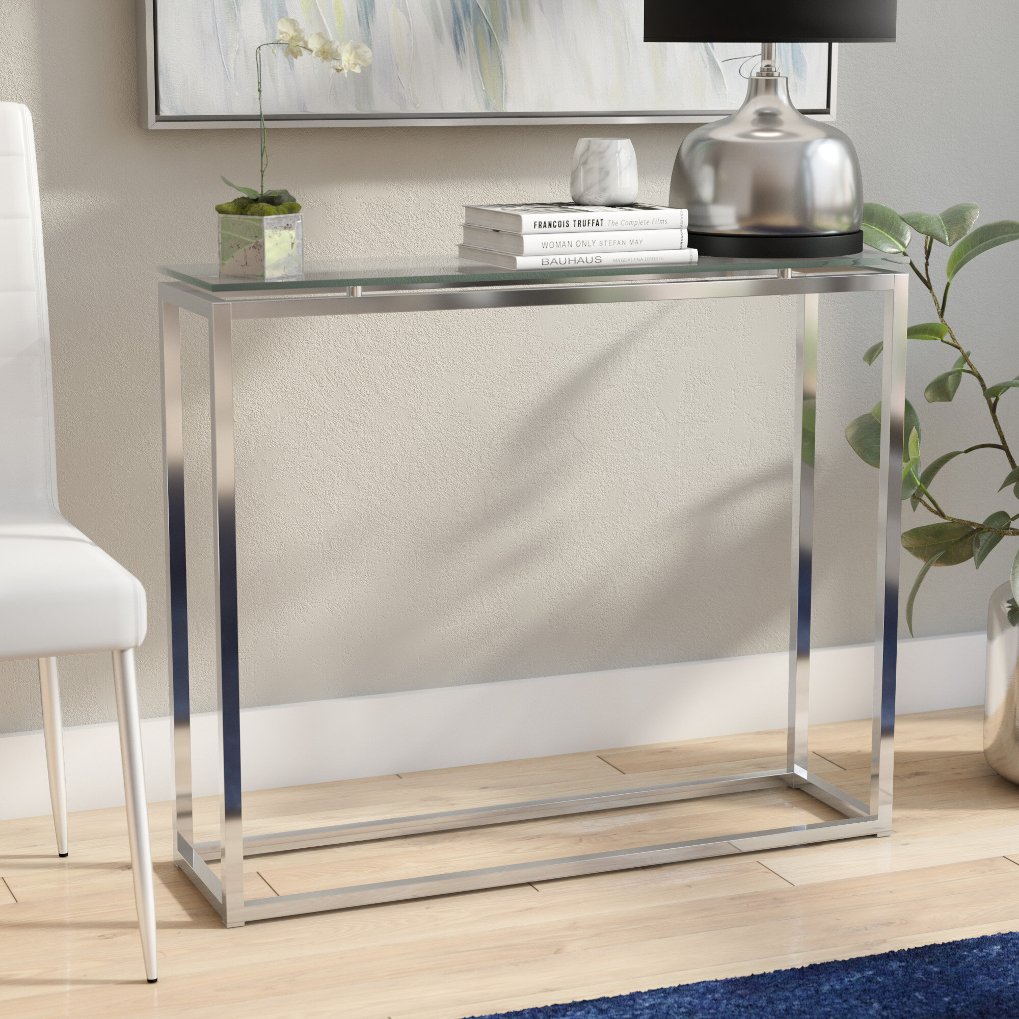 Designed Tall Console Table