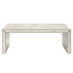 Antiqued Mirrored Coffee Table Wayfairca - Wayfair mirrored coffee table