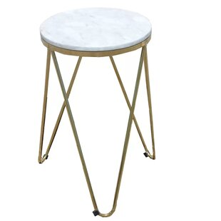 Gold Marble Accent Table Wayfair