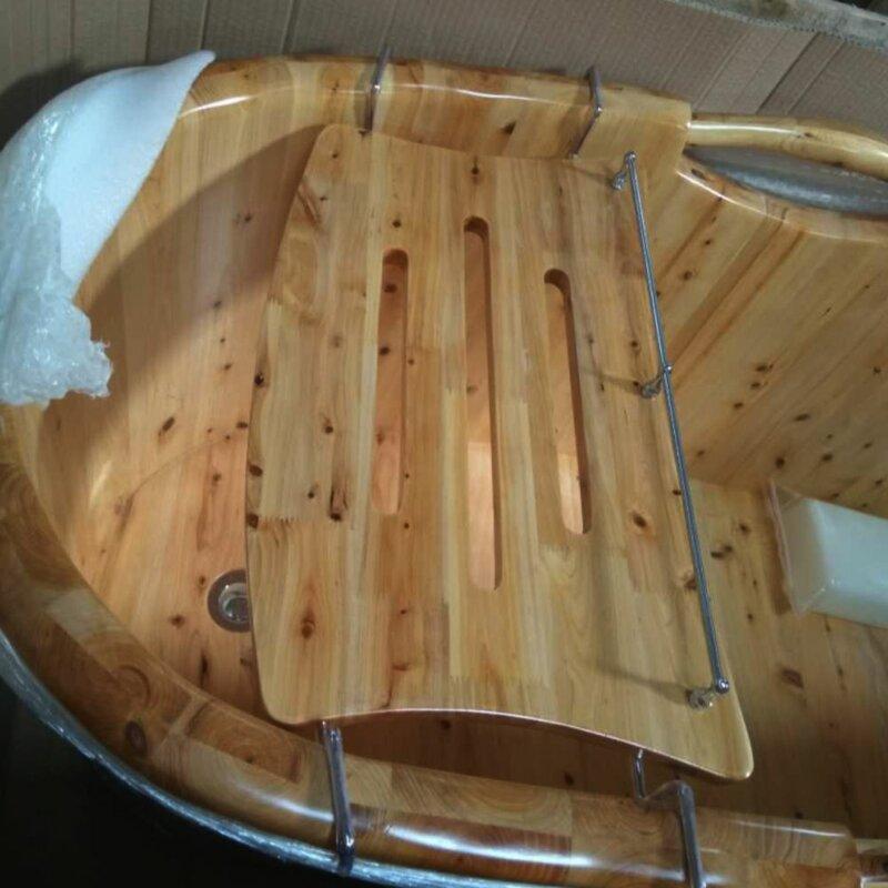 Alfi Brand Wooden Over The Tub Portable Bath Caddy | Wayfair