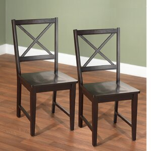 Futrell Solid Wood Dining Chair (Set of 2) by Charlton Home