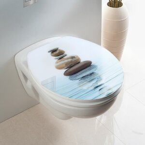WC-Sitz Meditation länglich von Wenko
