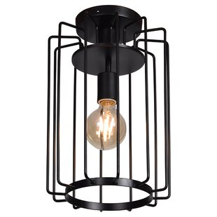 outdoor cage light sconce mcelrath vertical cage 1light flush mount outdoor light wayfair