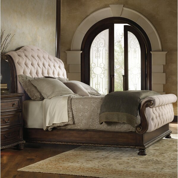 Hooker Furniture Adagio Upholstered Sleigh Bed Amp Reviews