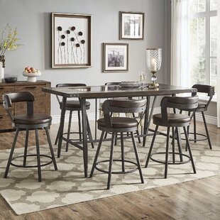 Craighead 7 Piece Counter Height Dining Set