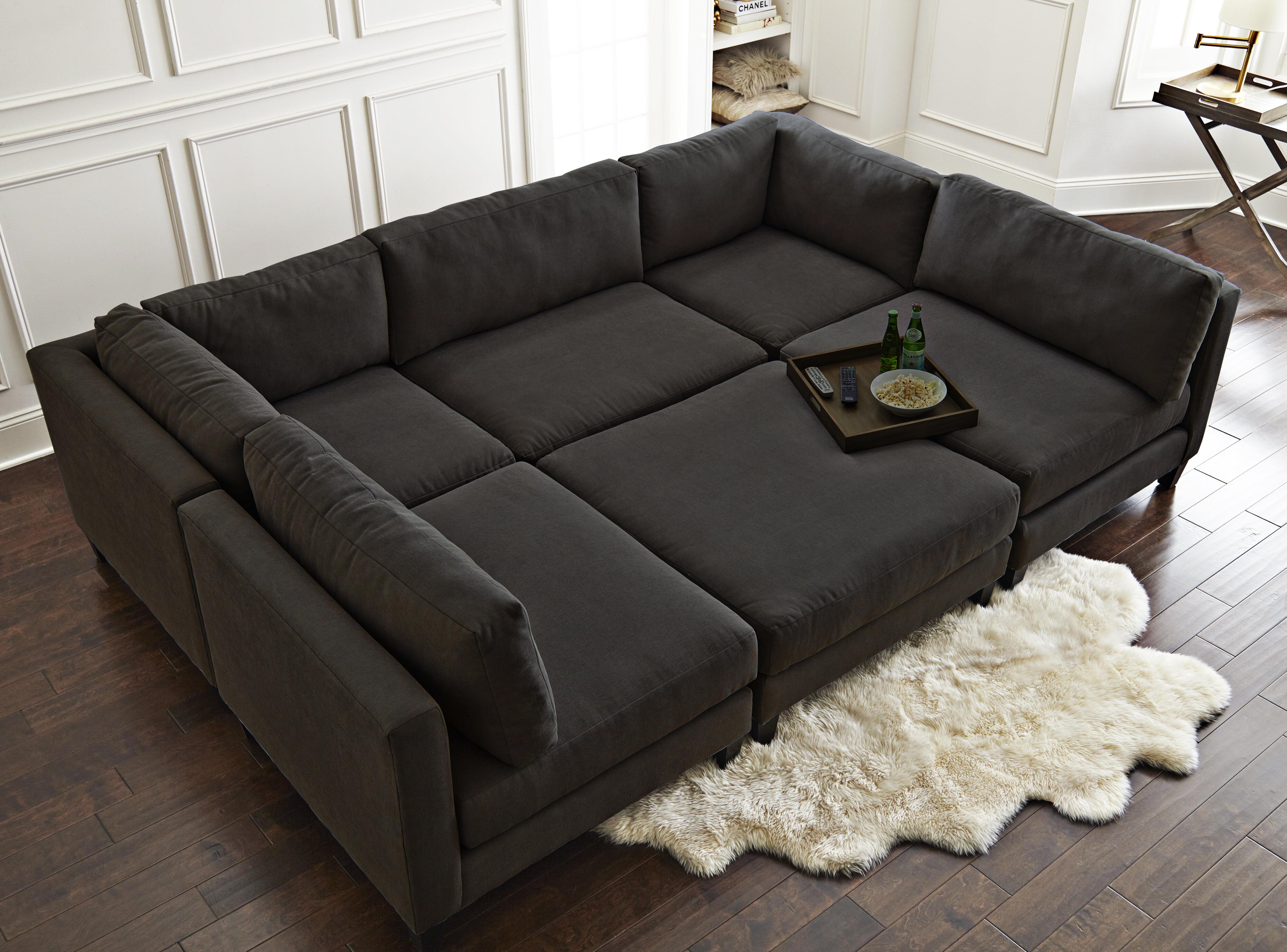Home by Sean & Catherine Lowe Chelsea Reversible Sleeper ...