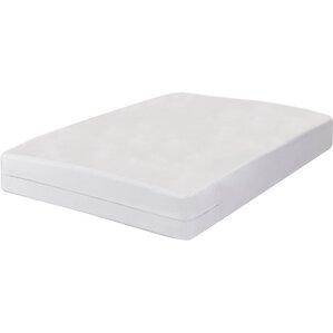Touch Zippered Hypoallergenic Mattress Protector by Sweet Home Collection