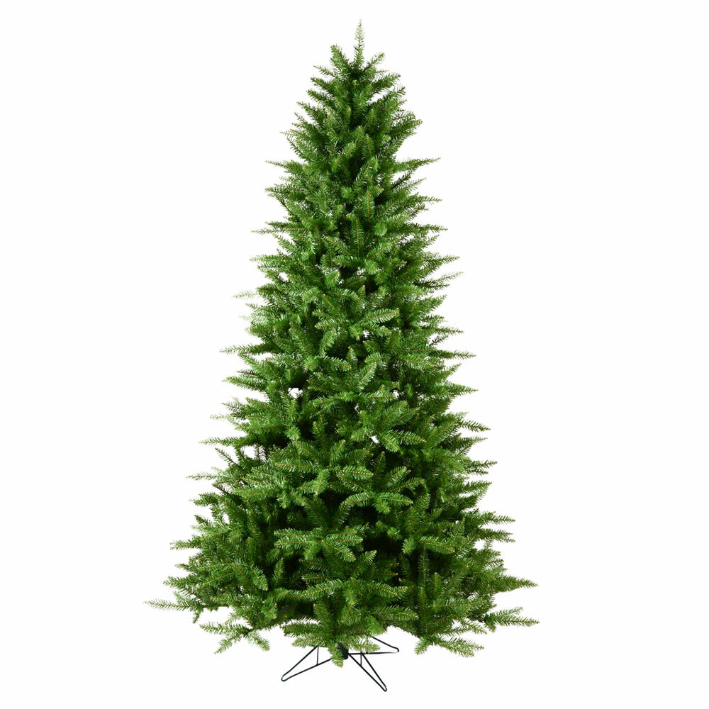 Collapsible Artificial Christmas Trees: The Holiday Aisle 7.5' Green Pine Artificial Christmas