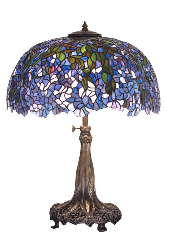 "Tiffany Laburnum 31.5"" Table Lamp"
