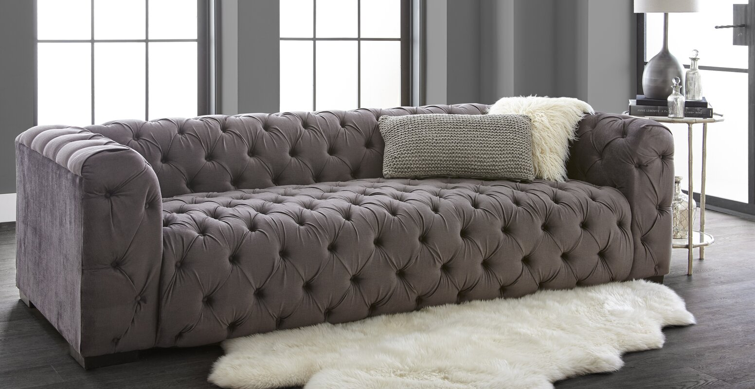 Home By Sean Catherine Lowe Kensignton Chesterfield Sofa - Chesterfield sofa