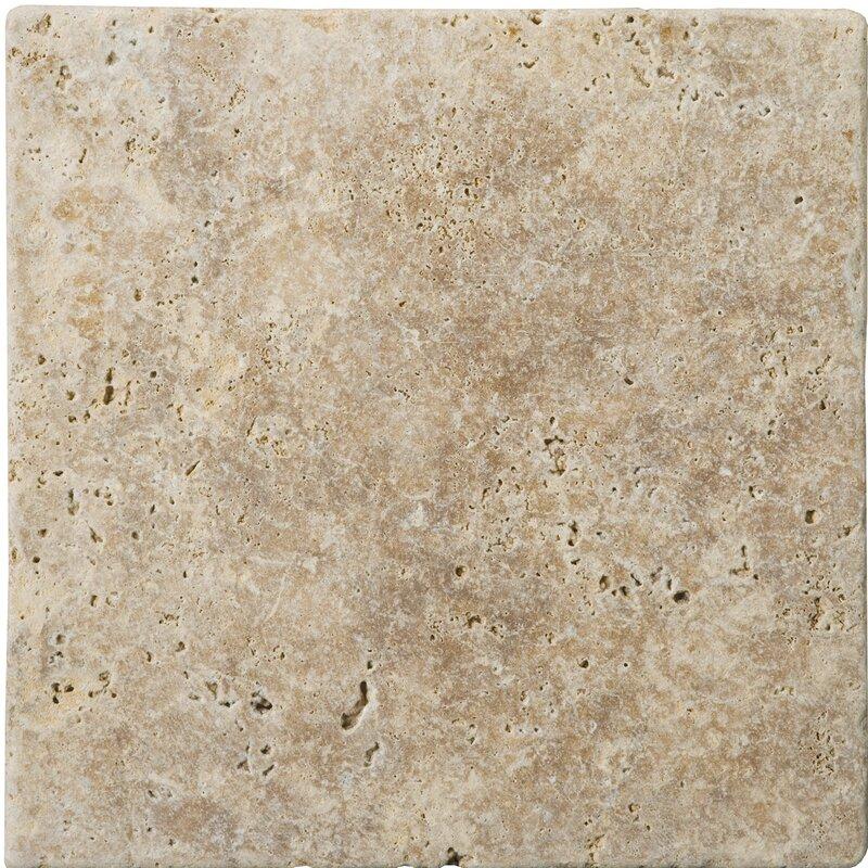 Natural Stone 4 X Travertine Tile