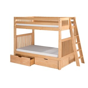 Oakwood Twin Bunk Bed with Drawers by ..