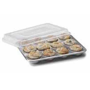 Nordic Ware Natural Commercial 12 Cup Muffin Pan with Lid Reviews