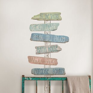 Sea And Beach Themed Wall Decals Youll Love Wayfair