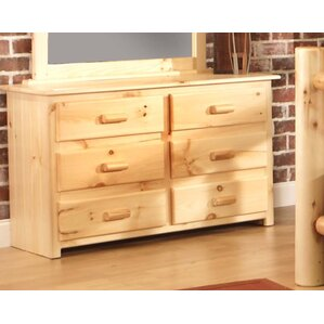 Chatham 6 Drawer Double Dresser by Chelsea Home Furniture