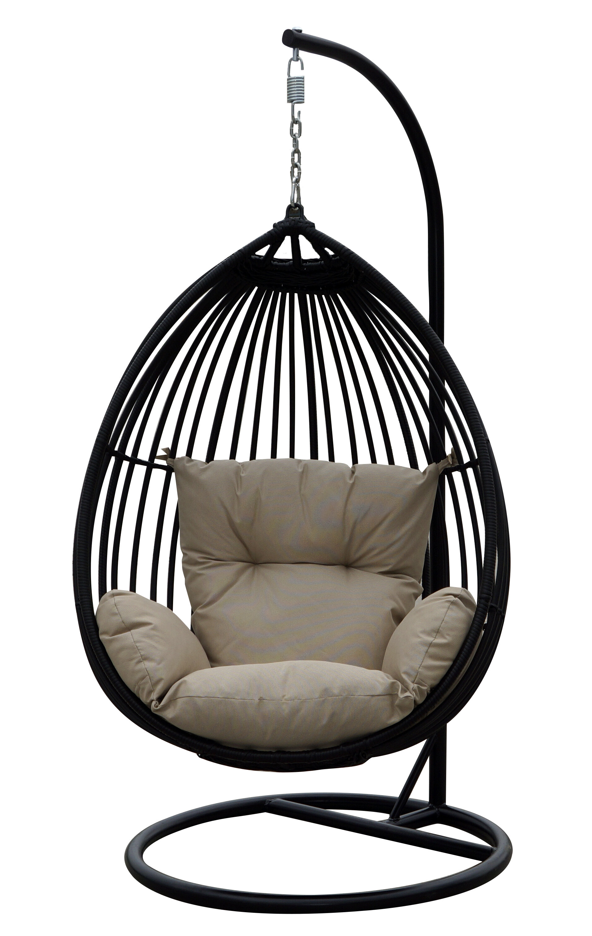 hanging wood hammock air chair solid outdoor swinging com walmart ip deluxe