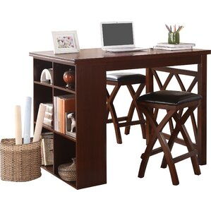 Mably 3 Piece Counter Height Dining Set by Woodhaven Hill
