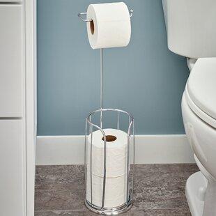 Free Standing Toilet Paper Holders Youu0027ll Love | Wayfair