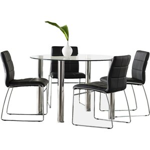 Rockaway 5 Piece Dining Set by Wade Lo..