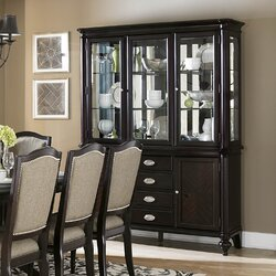 Alcott Hill Rheems Lighted China Cabinet Reviews
