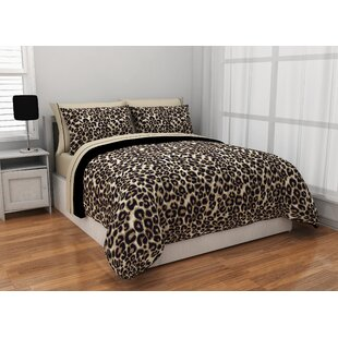 Cheetah Reversible Bed In A Bag Set