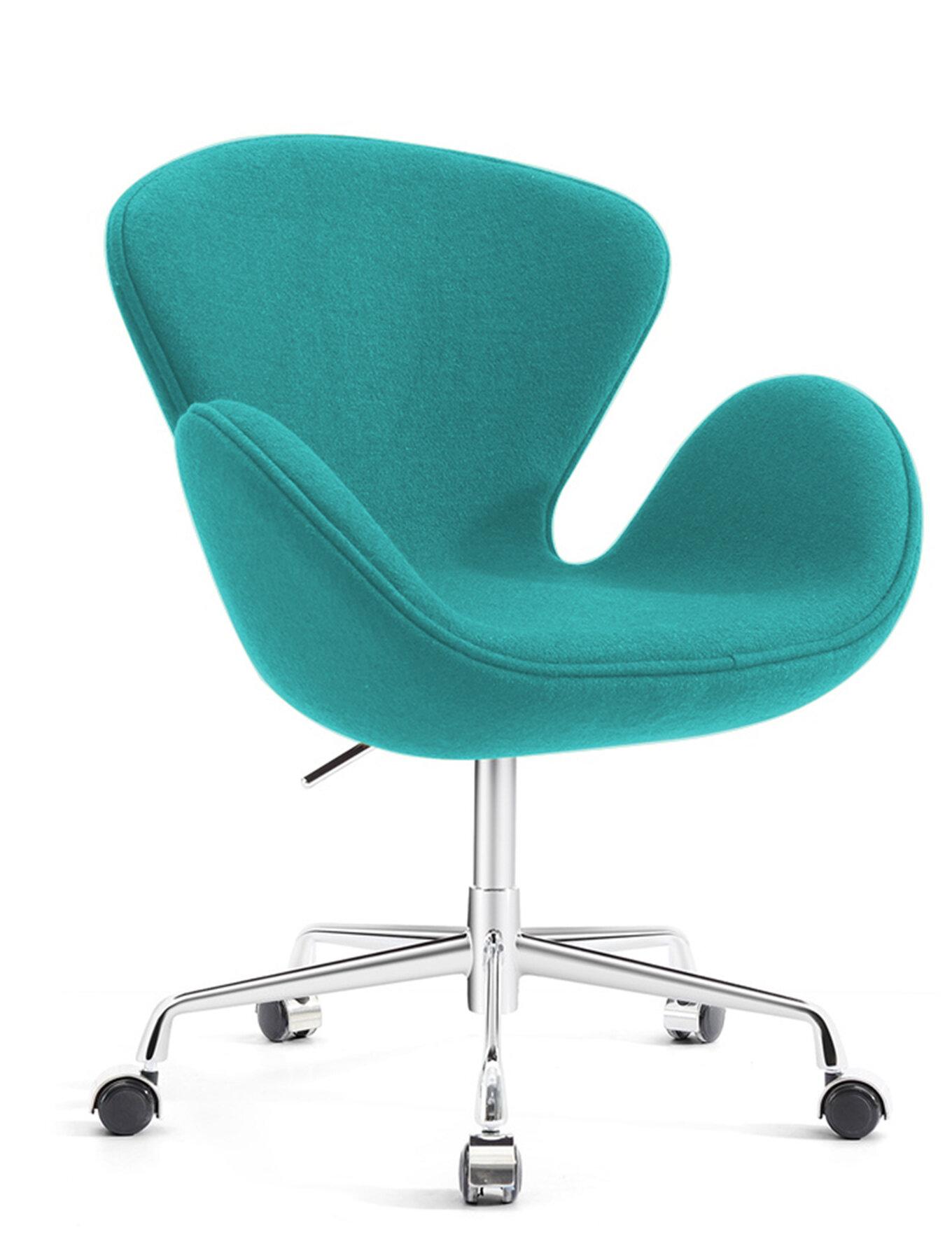 Orren Ellis Joann Mid-Century Modern Living Room Upholstered ...