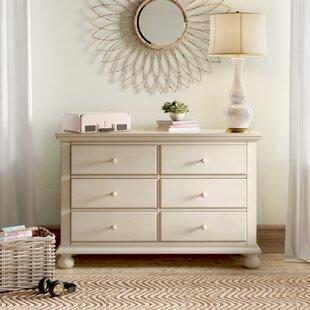 Lia 6 Drawer Double Dresser