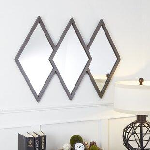 Dones Diamond Trio Accent Mirror