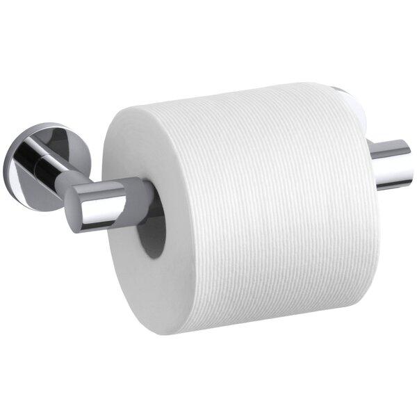 kohler stillness pivoting toilet tissue holder & reviews | wayfair