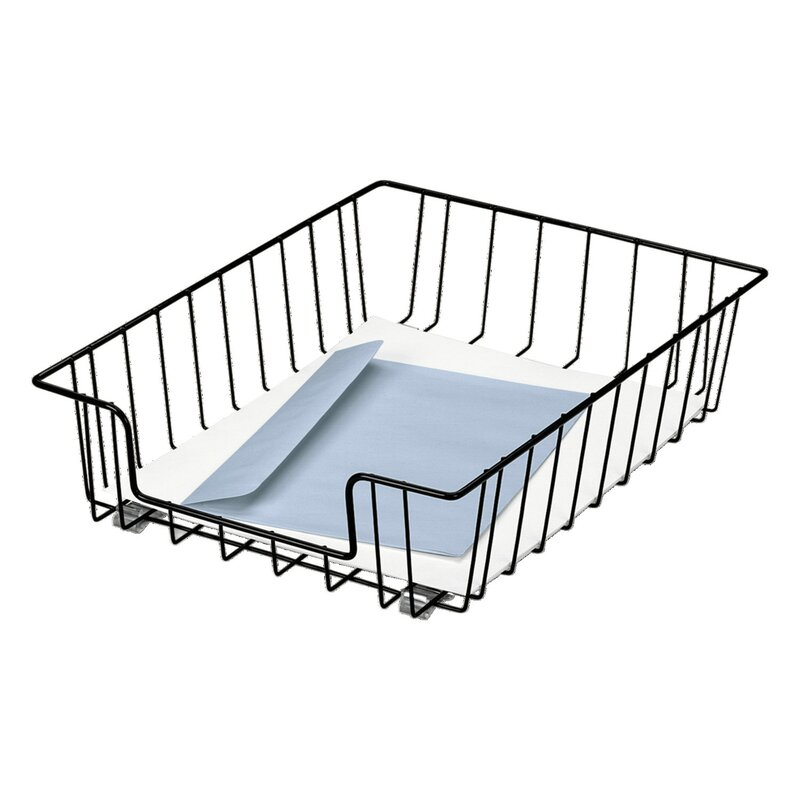 Fellowes Manufacturing Workstation Letter Desk Tray Organizer Wire