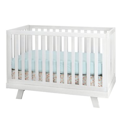 Mack & Milo Mexicali 3-in-1 Convertible 2 Piece Crib Set Color: White