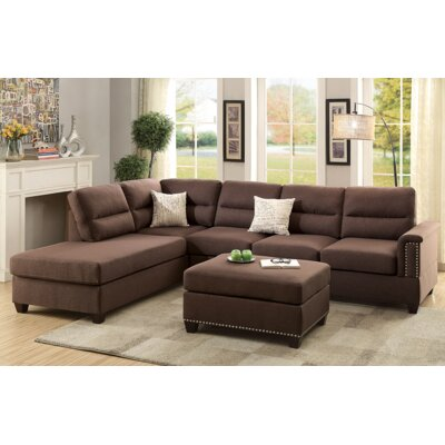 Sectional With Large Ottoman Wayfair