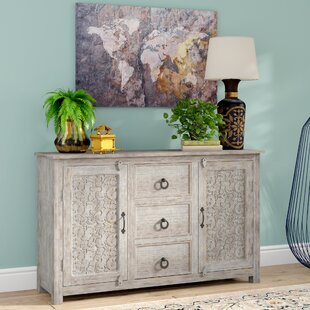 Joellen Timber Hand Curved Sideboard