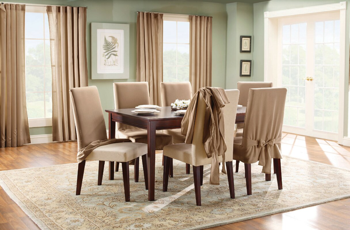 Dining Room Chair Slipcovers - home design ideas