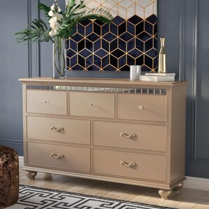 Almerton 7 Drawer Dresser by Simmons Casegoods by Willa Arlo Interiors