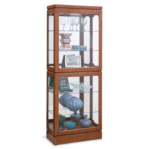 Breckenridge II Lighted Curio Cabinet by Philip Reinisch Co.