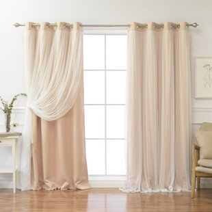 fancy plush design moorish tile curtain. Brockham Thermal Grommet Curtain Panels  Set of 2 Pink Curtains Drapes Birch Lane