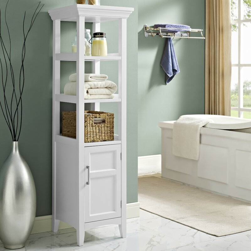 Linen Cabinets & Towers You'll Love   Wayfair