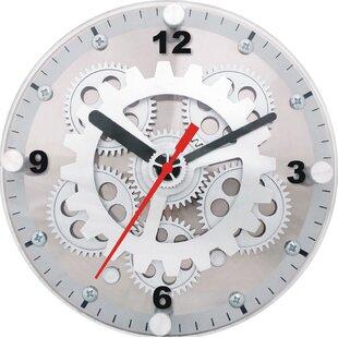 6 Moving Gear Wall Desktop Clock