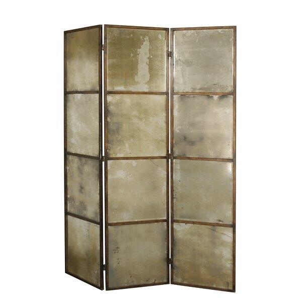 Uttermost 80 X 63 Avidan Mirrored 3 Panel Room Divider Reviews Wayfair