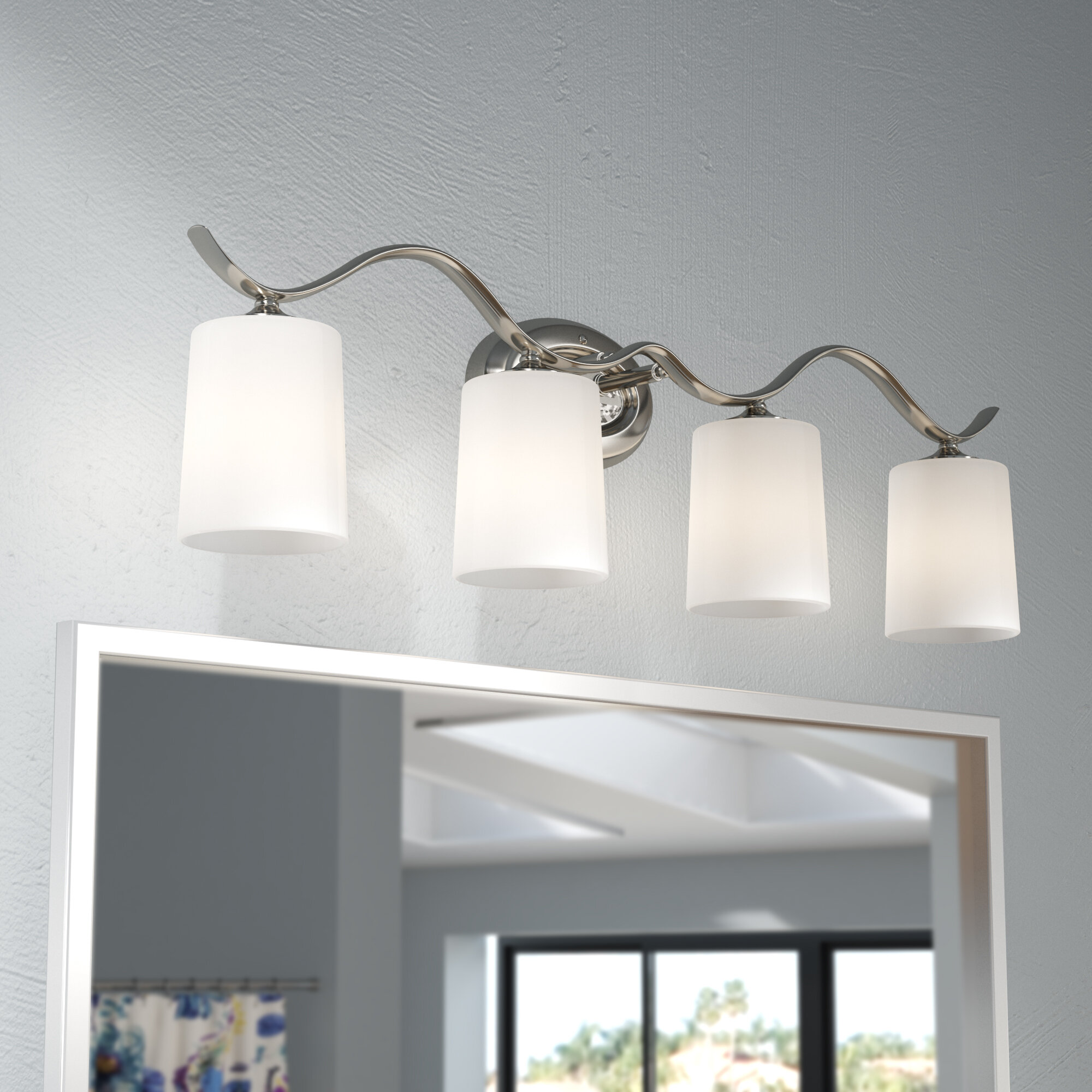 Winston porter sheffield 4 light vanity light reviews wayfair