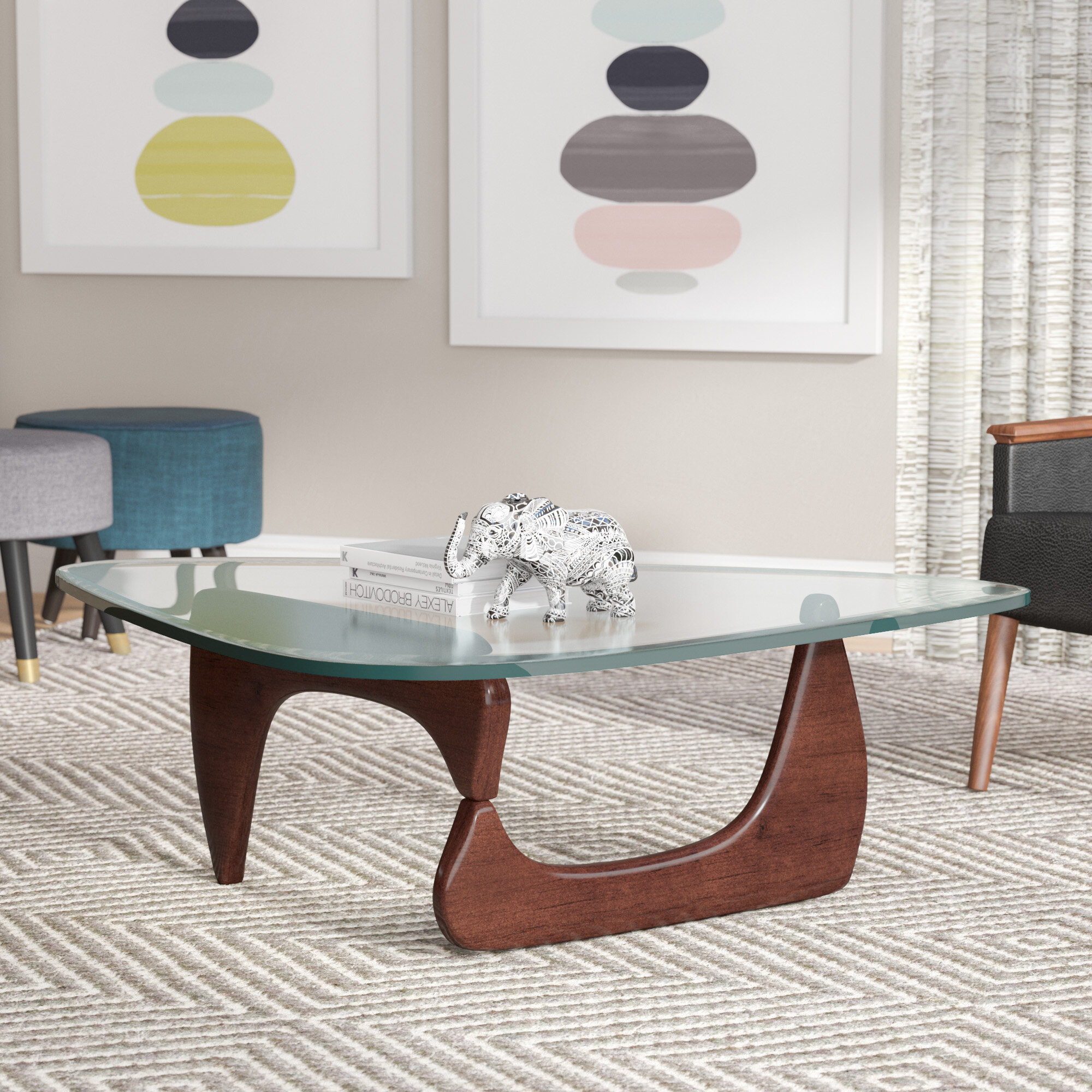 Orren Ellis Cali Triangle Coffee Table & Reviews