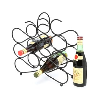 Jessica 12 Bottle Tabletop Wine Rack